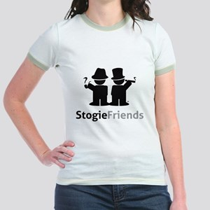 Stogie Friends Swag - Black Des Jr. Ringer T-Shirt