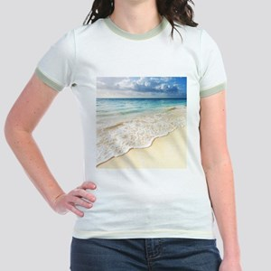 Beautiful Beach Jr. Ringer T-Shirt
