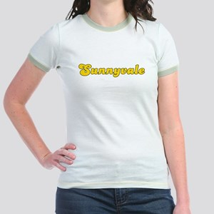 Retro Sunnyvale (Gold) Jr. Ringer T-Shirt