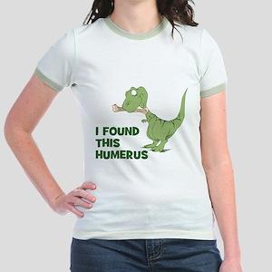 Cartoon Dinosaur Jr. Ringer T-Shirt