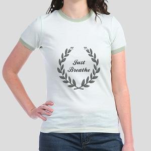 JUST BREATHE Jr. Ringer T-Shirt