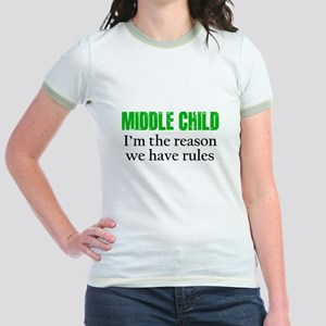MIDDLE CHILD (green) T-Shirt