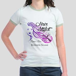 Hair Stylist Custom Jr. Ringer T-Shirt