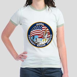 Kennedy Space Center Jr. Ringer T-Shirt