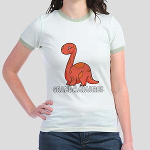 Grandmasaurus Jr. Ringer T-Shirt