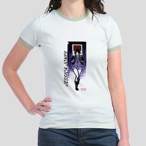Jessica Jones Walking Jr. Ringer T-Shirt