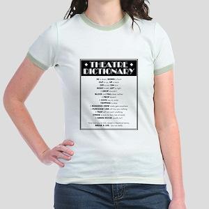 Theatre Dictionary Jr. Ringer T-Shirt