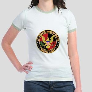 U.S. Counter Terrorist Center Jr. Ringer T-Shirt