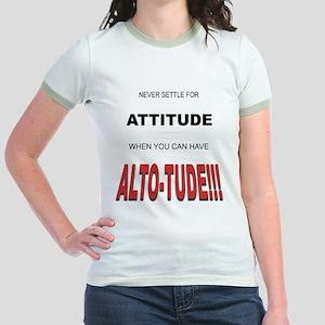 Alto-tude!!! Jr. Ringer T-Shirt