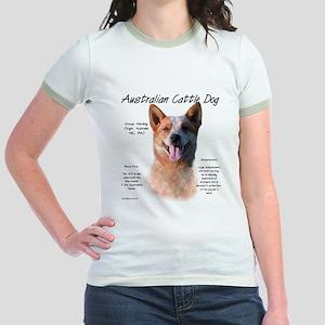 Cattle Dog (red) Jr. Ringer T-Shirt