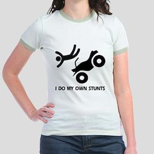 ATV: I Do My Own StuntsT ATV Jr. Ringer T-Shirt