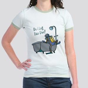 Do I Log This Dive? Jr. Ringer T-Shirt
