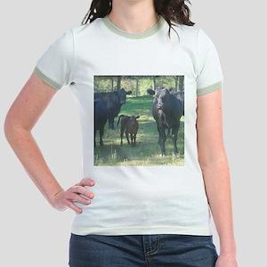 black angus Jr. Ringer T-Shirt