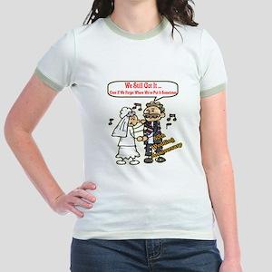 50th Wedding Anniversary Jr. Ringer T-Shirt