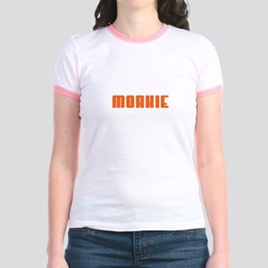 Groovy Orange Morkie Jr. Ringer T-Shirt