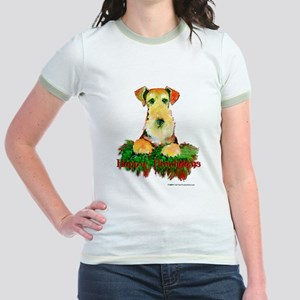 Airedale Holiday Jr. Ringer T-Shirt