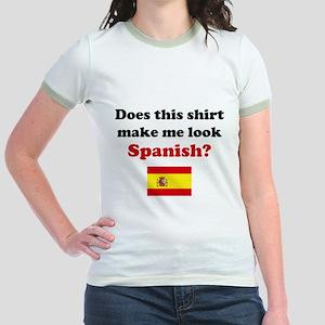Make Me Look Spanish Jr. Ringer T-Shirt