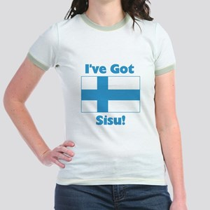 Finnish Sisu Jr. Ringer T-Shirt