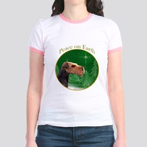 Airedale Peace Jr. Ringer T-Shirt