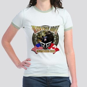 death from above bow hunting Jr. Ringer T-Shirt