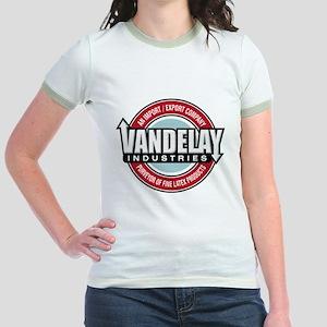 Vandelay Industries Jr. Ringer T-Shirt