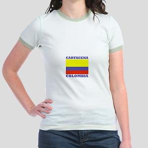 Cartagena, Colombia Jr. Ringer T-Shirt