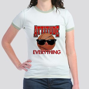 Attitude is Everything Jr. Ringer T-Shirt