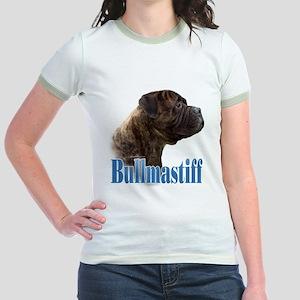 Bullmastiff(brindle)Name Jr. Ringer T-Shirt