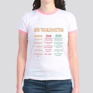 Beer Troubleshooting Jr. Ringer T-Shirt