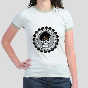Airborne Skulls Jr. Ringer T-Shirt