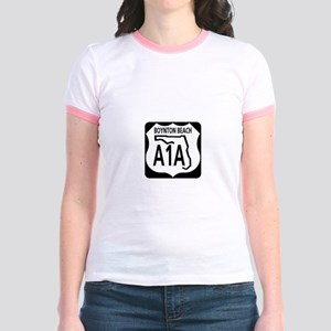 A1A Boynton Beach Jr. Ringer T-Shirt