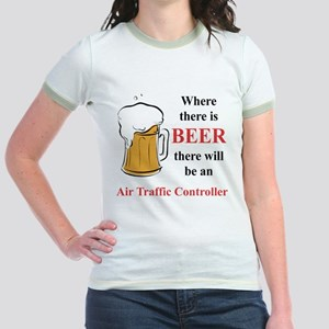 Air Traffic Controller Jr. Ringer T-Shirt