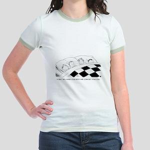 A Warm Quilt Jr. Ringer T-Shirt