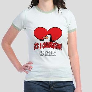 49th Celebration Jr. Ringer T-Shirt