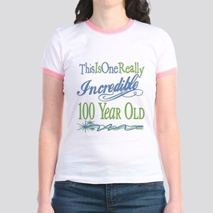 Incredible 100th Jr. Ringer T-Shirt