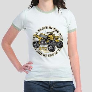 Plays in the Dirt ATV Jr. Ringer T-Shirt