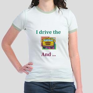School Bus Driver Jr. Ringer T-Shirt