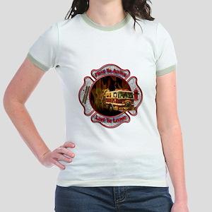 FireFighter Jr. Ringer T-Shirt