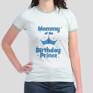 Mommy of the 1st Birthday Pri Jr. Ringer T-Shirt