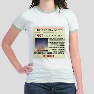 born in 1997 birthday gift Jr. Ringer T-Shirt