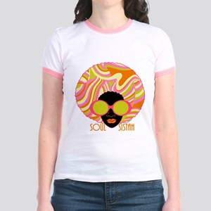 Soul Sistah Jr. Ringer T-Shirt
