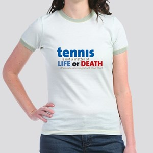 Tennis Life or.... Jr. Ringer T-Shirt