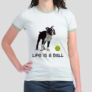 Boston Terrier Life Jr. Ringer T-Shirt