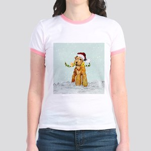 Winter Airedale Jr. Ringer T-Shirt