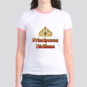 Principessa Siciliana Jr. Ringer T-Shirt