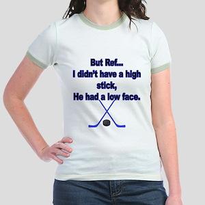 But Ref... Jr. Ringer T-Shirt
