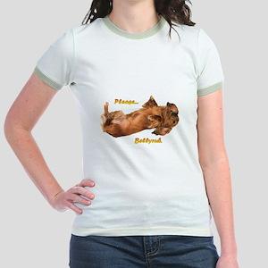 Bellyrub Doxie Jr. Ringer T-Shirt