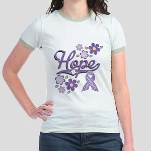 Hope Alzheimer's Jr. Ringer T-Shirt
