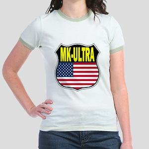 PROJECT MK ULTRA Jr. Ringer T-Shirt