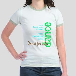 Dance for Life 1 Jr. Ringer T-Shirt